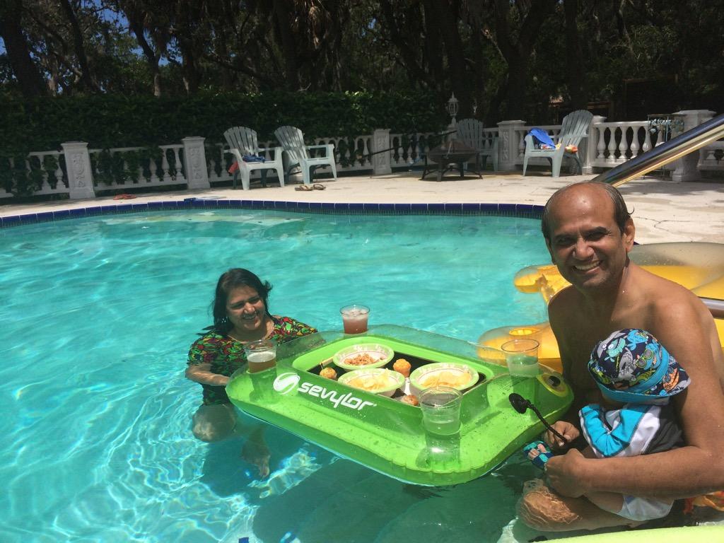 Naveen summer fun 2015 chirag mehta for Florida pool show 2015